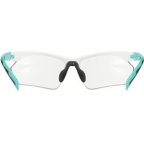 UVEX Sportstyle 802 V Sportglasses Small white/mint matt/smoke